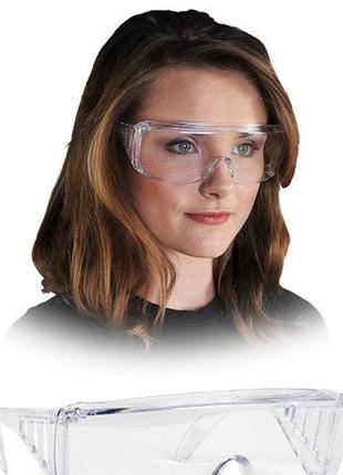 Очки защитные (прозрачные) рабочие новые!