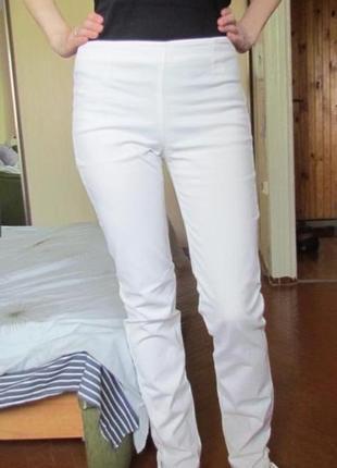 Белые летние брюки/джинсы
