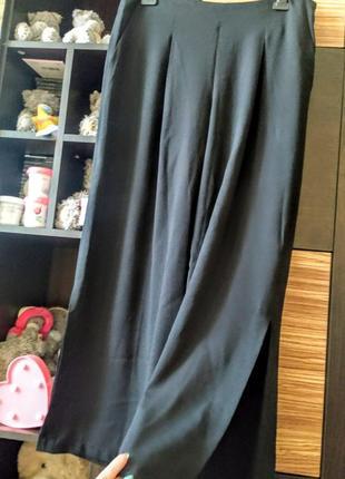 Штаны брюки палаццо кюлоты разрезы cos zara mango