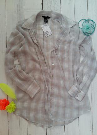Тончайшая рубашечка h&m, размеры 36, 38.