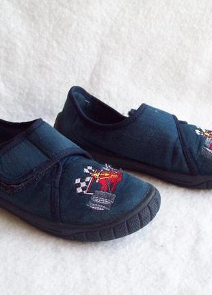 Туфли текстильные, стелька 19,5 см.