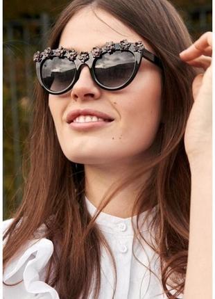 Забирай последние! офигенные 💗 чёрные очки & other stories