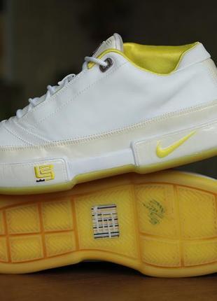 """Мужские баскетбольные кроссовки nike zoom lebron low st """"voltage yellow"""""""