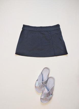 Актуальная хлопковая юбка topshop m-l