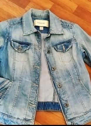 Пиджак катоновый mango jeans