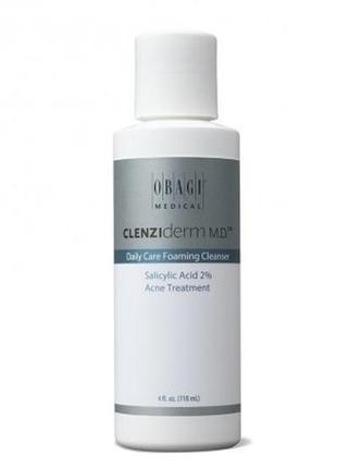 Очищающее средство для ежедневного ухода obagi clenziderm с 2% салициловой кислоты