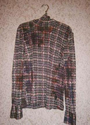 Новая водолазка, блузка, гольф elegance 100% шелк