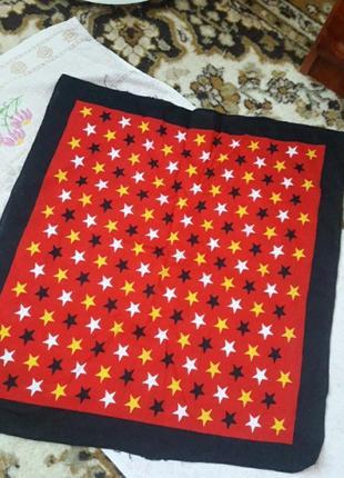 Хлопковая бандана платок повязка