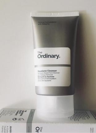 The ordinary cleanser - лучшее средство для устранения загрязнений и макияжа