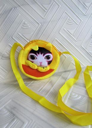Детская сумочка на ленточке