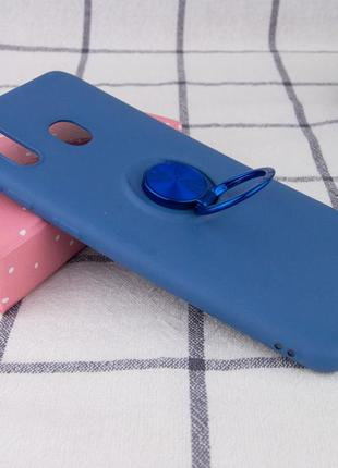 Синий чехол summer colorring под магнитный держатель