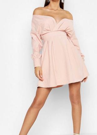 Платье boohoo новое сток xs-s