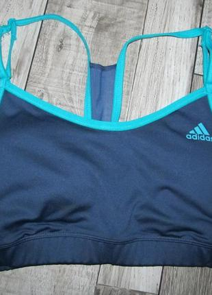 Спортивный топ бралетт adidas  р. l 16-18