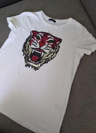 Білосніжна футболка 100% cotton