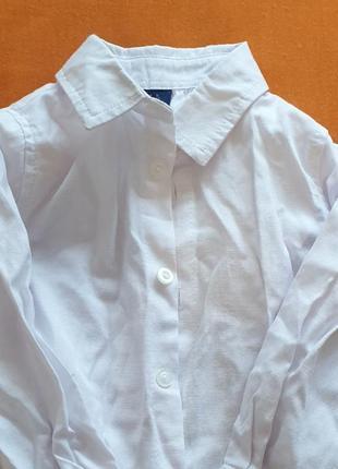 Крутая хлопковая рубашка, 92см
