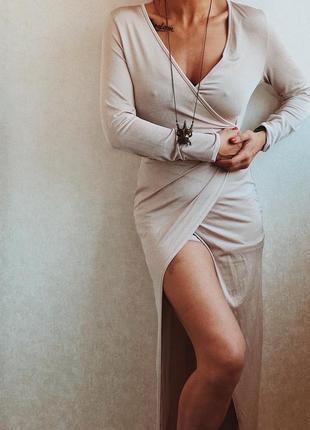 Необычное платье-шорты