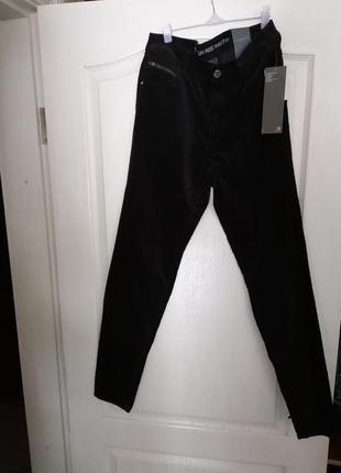 Женские брюки под велюр