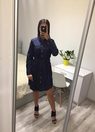Стильна джинсова сукня