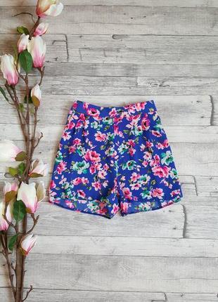 Стильные цветочные шортики new look