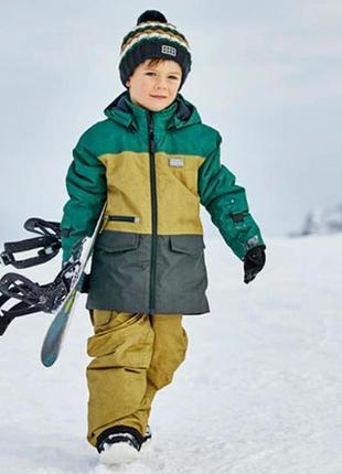 Зимний мембранный лыжный комбинезон р.110-116 lego wear