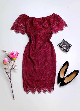 🔥 sale. кружевное платье на подкладке.