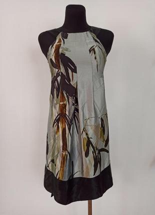 Шовкове плаття ted baker платье принт шелк
