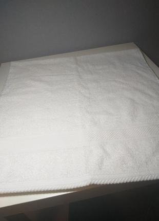Белоснежное полотенце