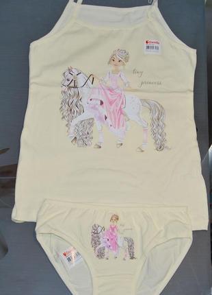 Комплект 8-9 лет донелла donella принцесса лошадка