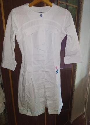 Білий медичний халат
