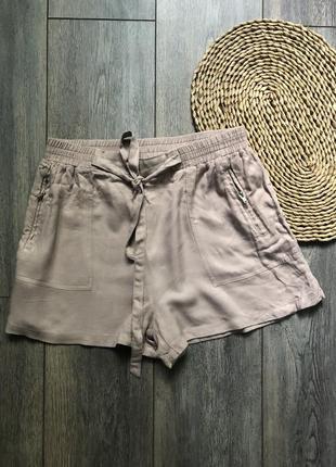 Вискозные шорты new look 12 пудровые
