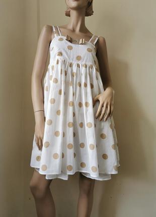 Twin set хлопковое платье