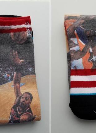 Баскетбольные носки stance miami heat alonzo mourning nba all-star playoffs спортивные