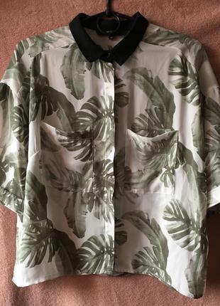 Укороченная блуза reserved