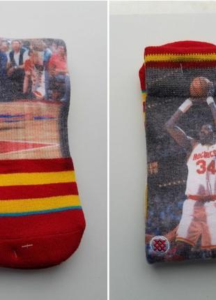 Баскетбольные носки stance nba hakeem olajuwon houston rockets спортивные гетры