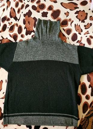 Кашемировый свитерок с коротким рукавом cha cha