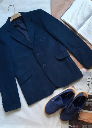 Пиджак школьный на мальчика 8-9 лет
