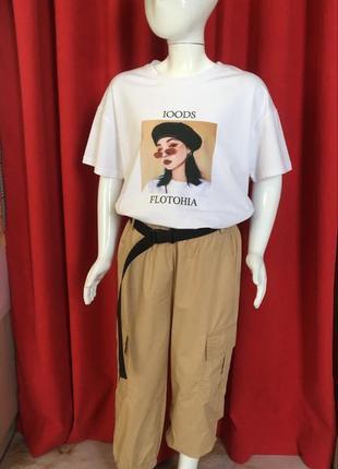 Костюм «штаны джоггеры и футболка» для девочки