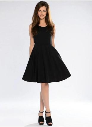Р.42-48. черное летнее платье . шикарное короткое легкое платьице. пт11-1