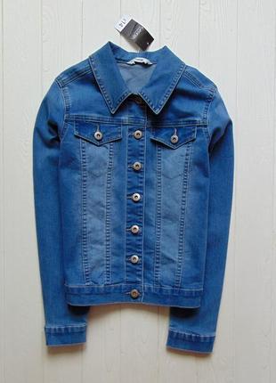 George. размер 12-13 лет. новая джинсовая куртка для девочки