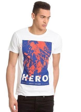 Чоловіча футболка hero's heroine (21994)