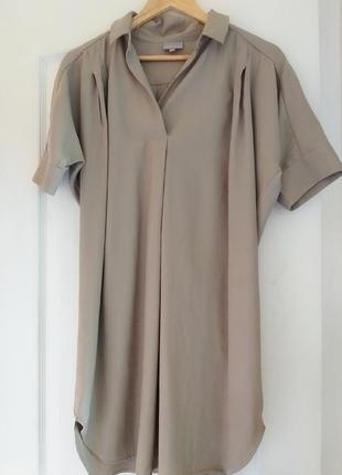 Платья рубашка хаки oliver bonas