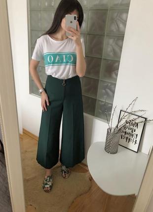 Женские брюки кюлоты topshop