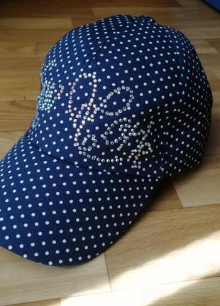 Гламурная летняя кепка бейсболка 56-58