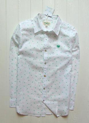 Trasluz (испания). размер s, можно от 14 лет. новая шикарная рубашка для парня