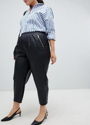 Стильні брюки під шкіру asos за спокусливою ціною