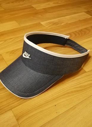 Стильная кепка бейсболка джинс nike 56-58