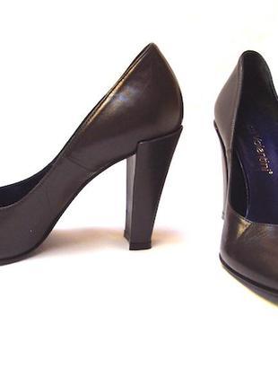 Туфли luca valentini , 35 размер, серые кожа натуральная