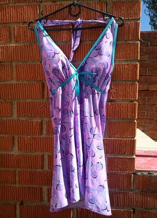 Платье-купальник, пляжное платье
