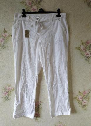 Новые женские белые штаны брюки # котоновые штаны # george