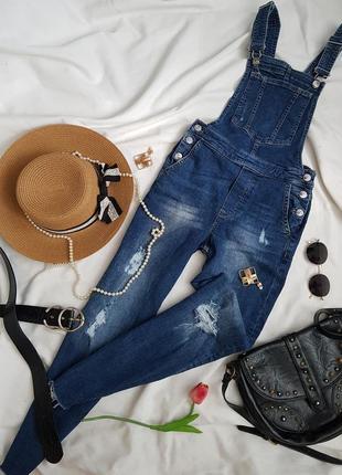 Неймовірний джинсовий комбінезон від h&m